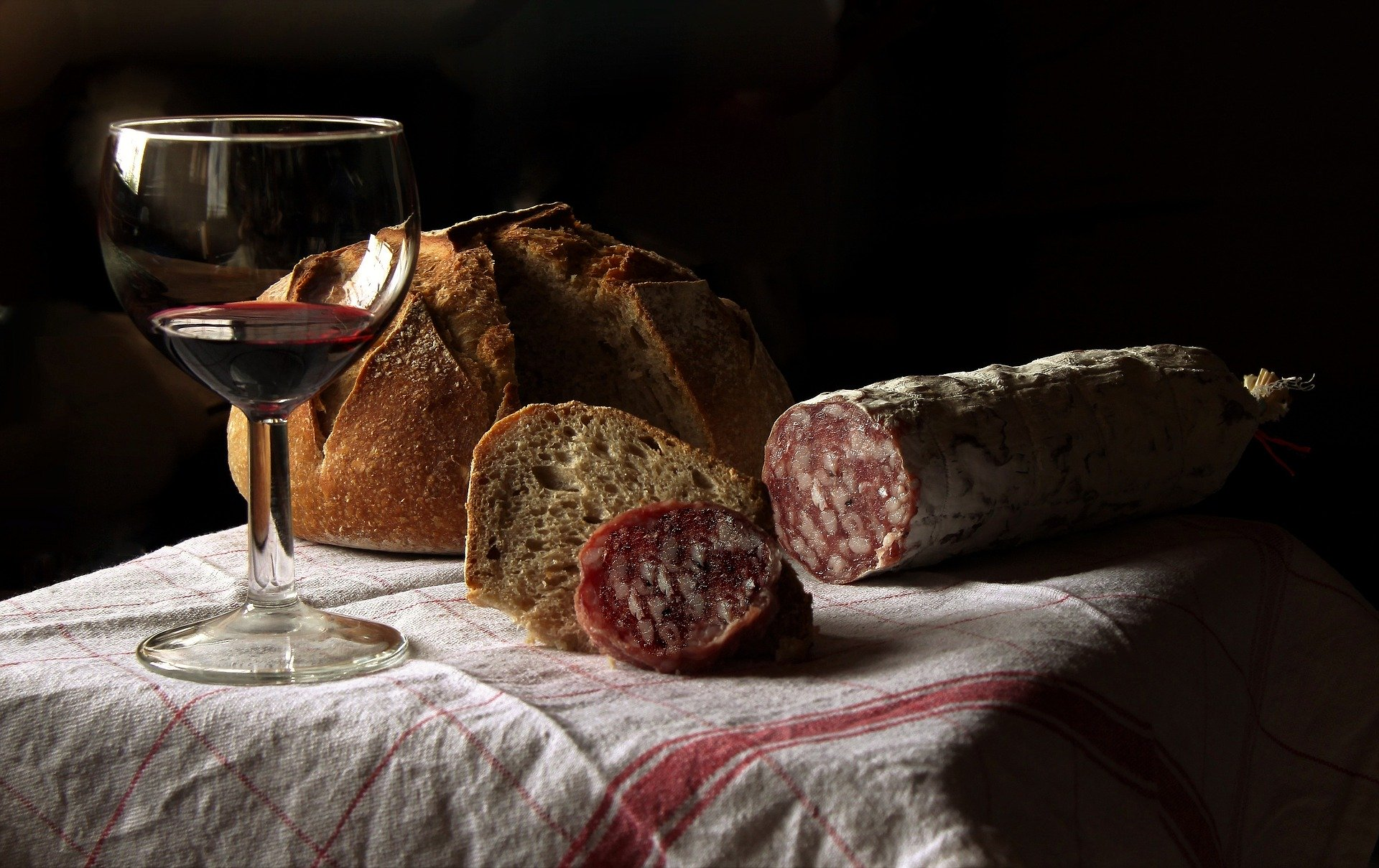 Wine and local products
